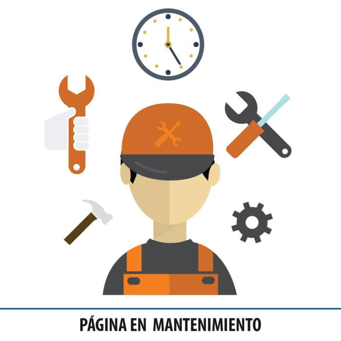 Página en mantenimiento