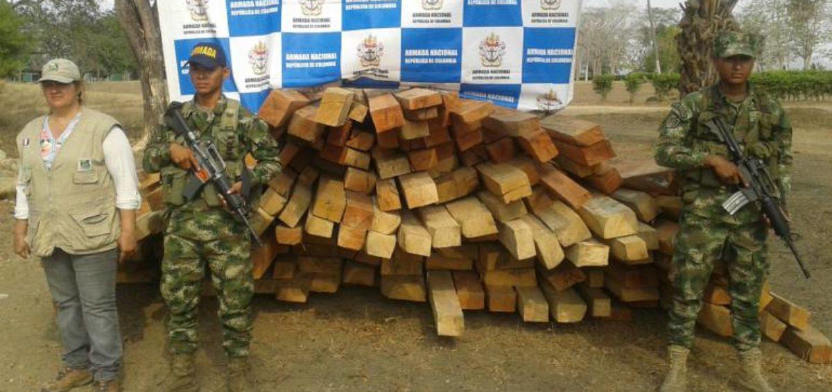 tráfico ilegal de madera