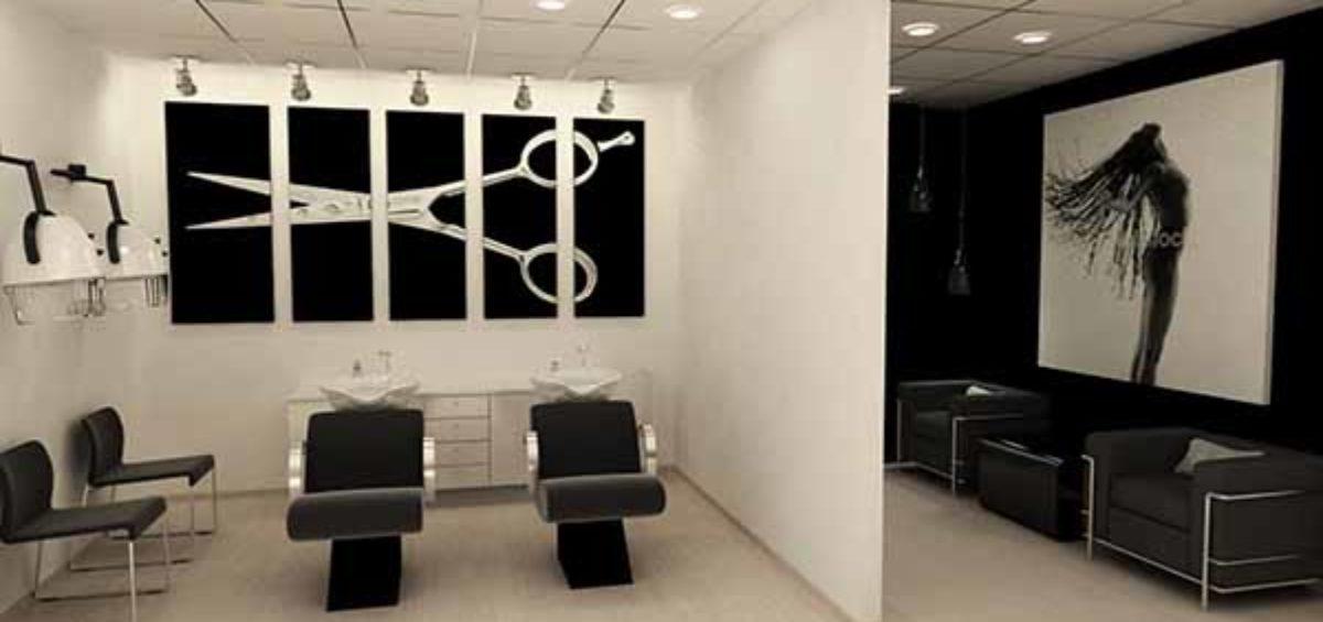 Mobiliario para salones de belleza dise os con buen look - Diseno de salones modernos ...